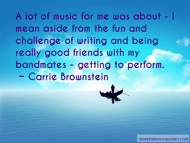 Quotes About Bandmates