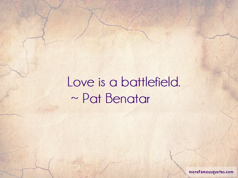 Quotes About Battlefield