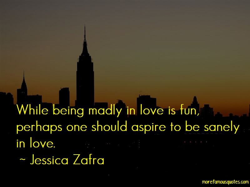 Quotes About Being Madly In Love