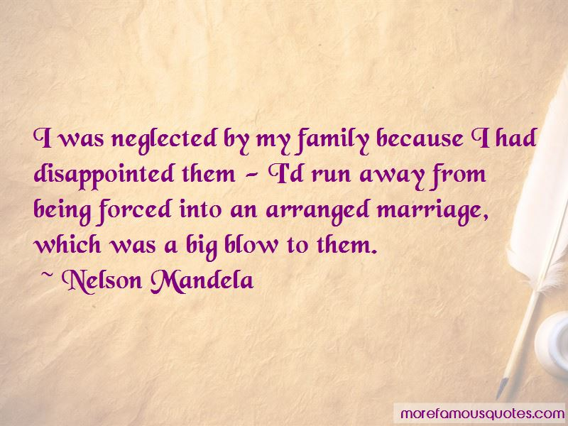 Quotes About Being Neglected By Family