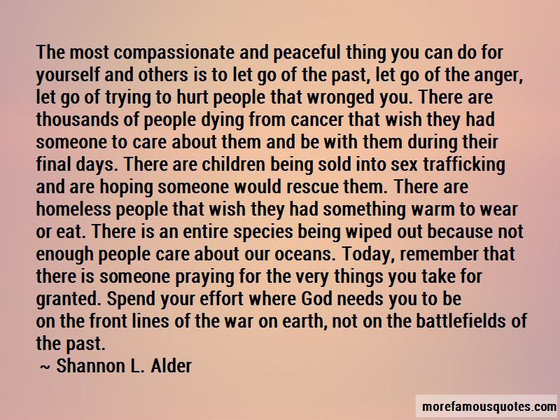 Quotes About Being There For Someone With Cancer: top 1 ...