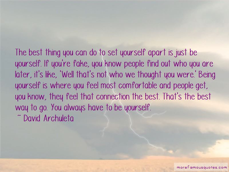 Quotes About Being Yourself And Not Fake