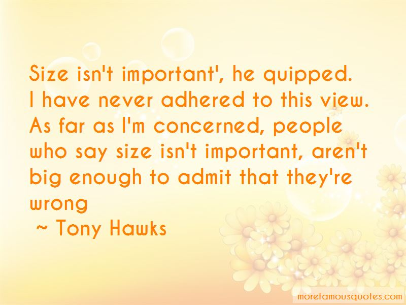 Quotes About Big Size