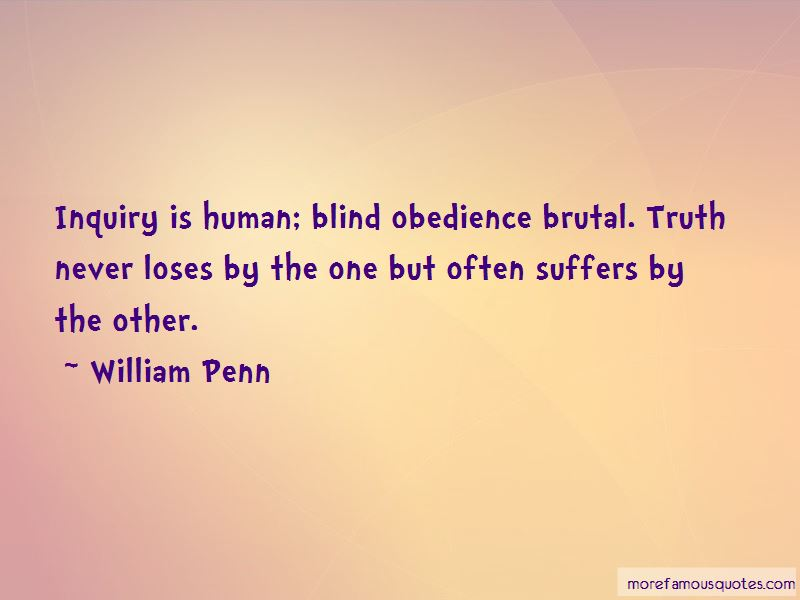 Blind Obedience Quotes Pictures 3