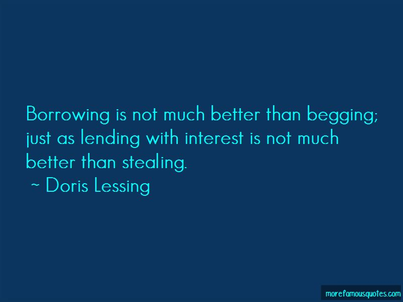 Borrowing And Lending Quotes Pictures 3