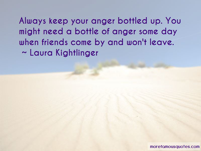 Bottled Up Anger Quotes Pictures 3