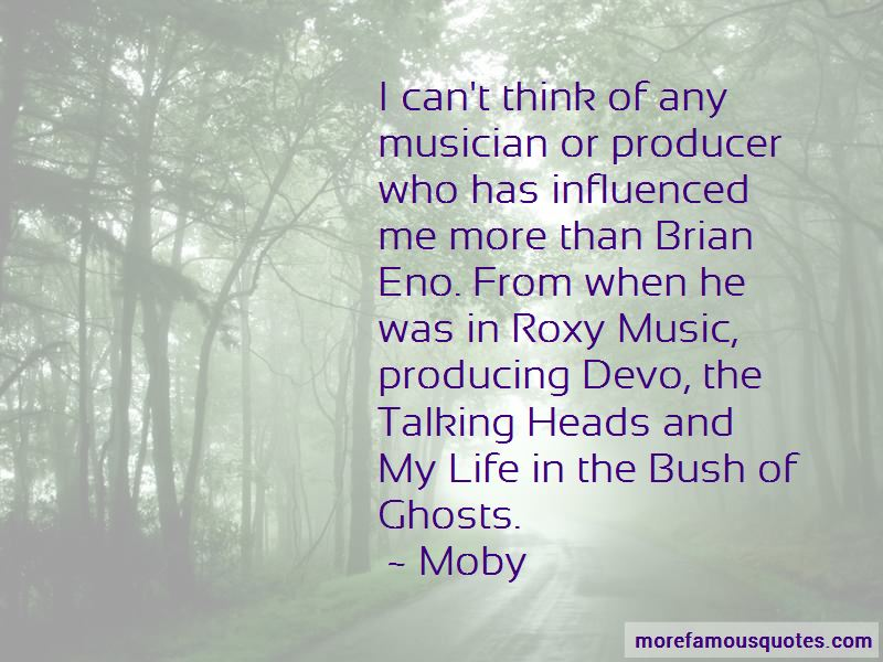 Quotes About Brian Eno