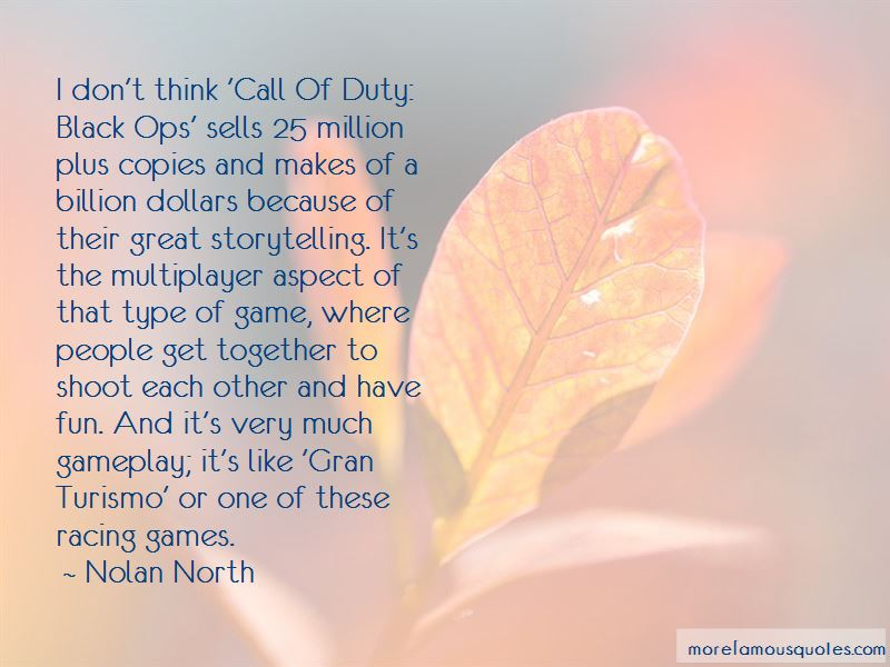 Quotes About Call Of Duty Black Ops