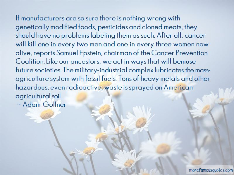 Quotes About Cancer Prevention