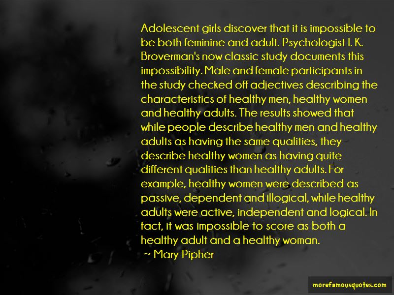 Quotes About Characteristics Of A Woman