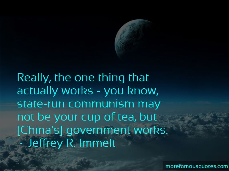 Quotes About China's Government