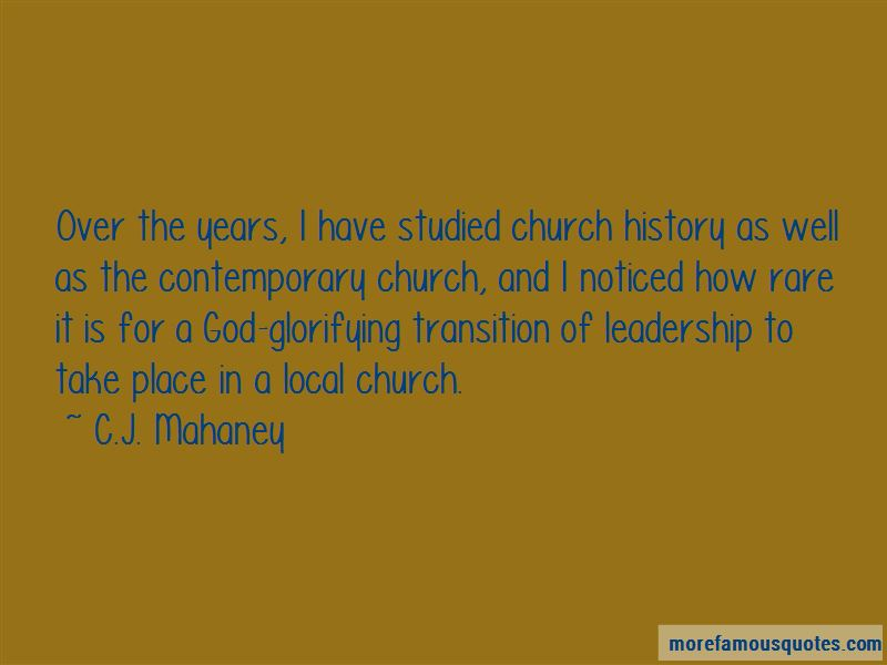 Quotes About Contemporary Church