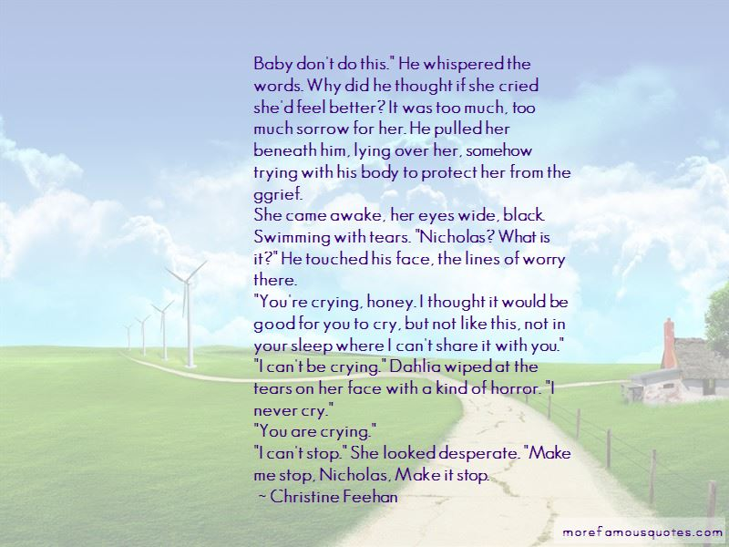 Crying To Feel Better Quotes Pictures 2