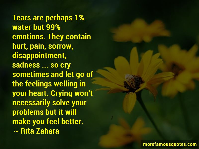 Crying To Feel Better Quotes Pictures 3