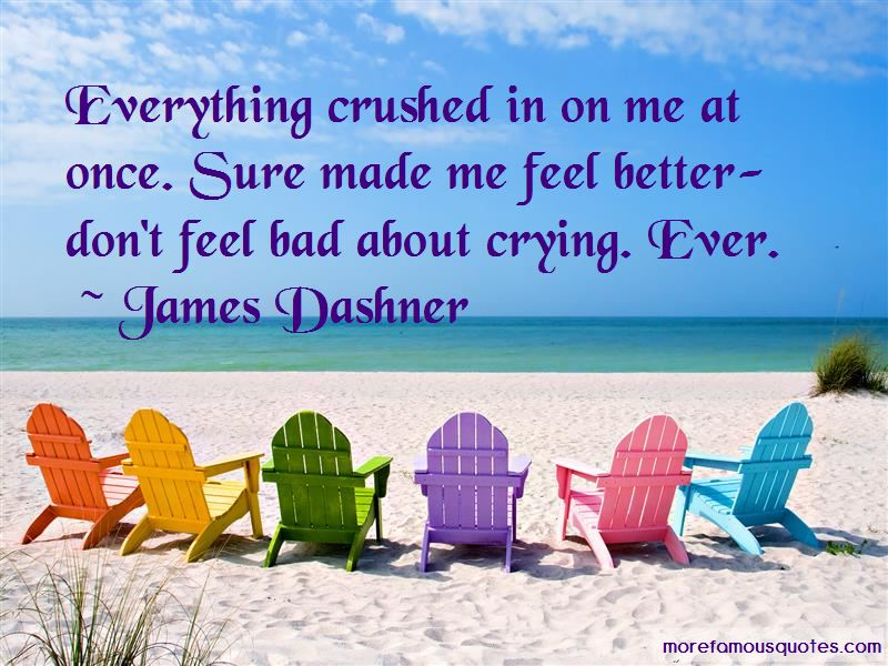 Crying To Feel Better Quotes Pictures 4