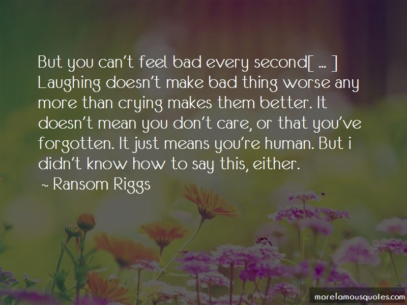 Quotes About Crying To Feel Better