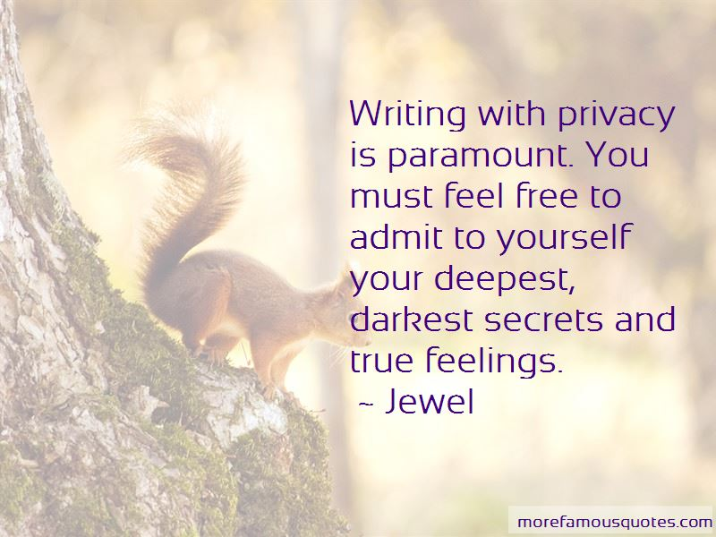 Quotes About Darkest Secrets