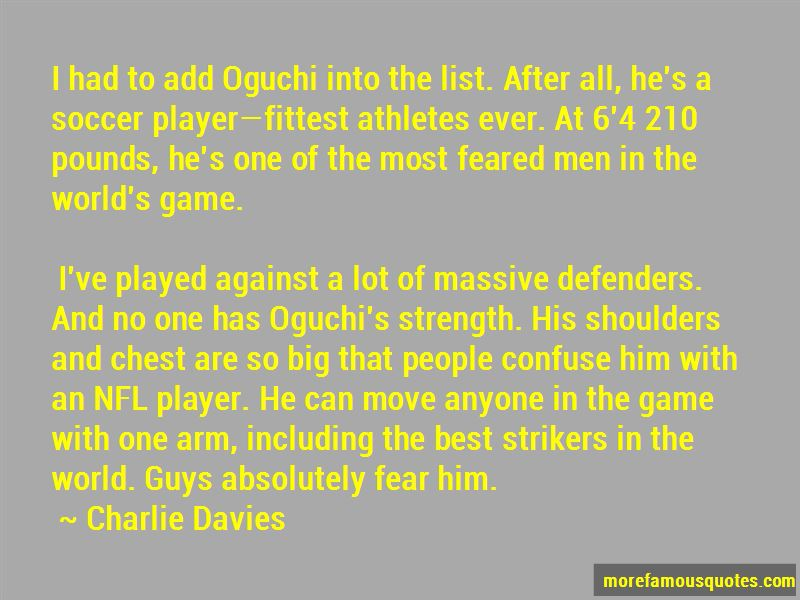 Quotes About Defenders In Soccer