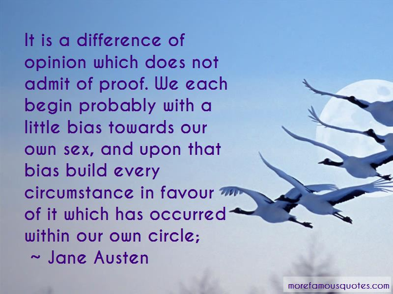 Quotes About Difference Of Opinion