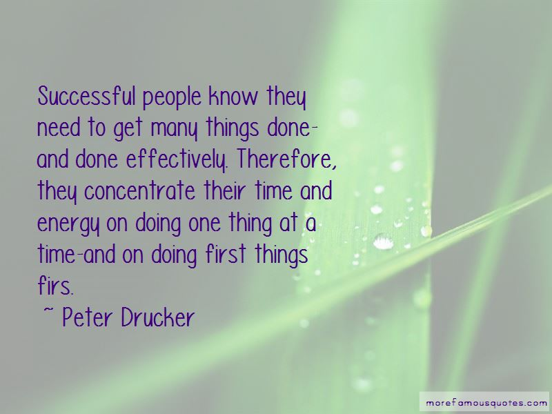 Doing Things First Quotes Pictures 2