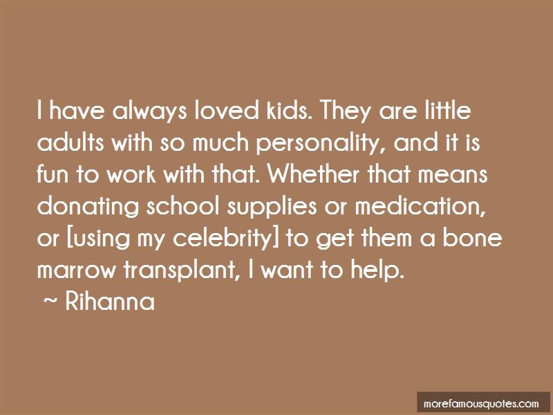 Quotes About Donating Bone Marrow
