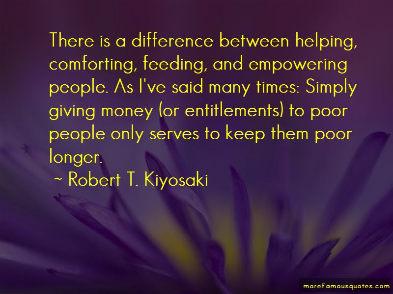 Quotes About Empowering The Poor