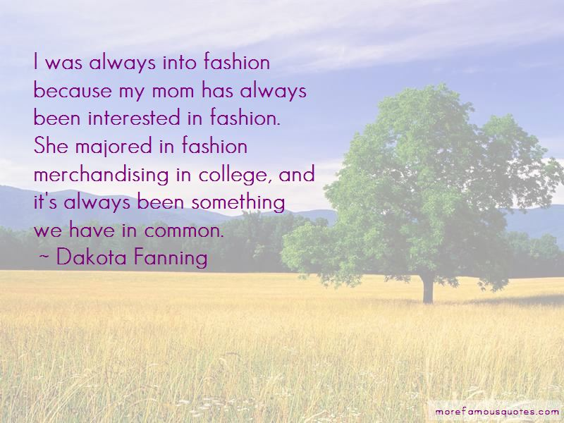 Quotes About Fashion Merchandising
