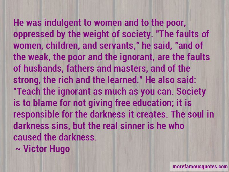 Quotes About Faults In Society