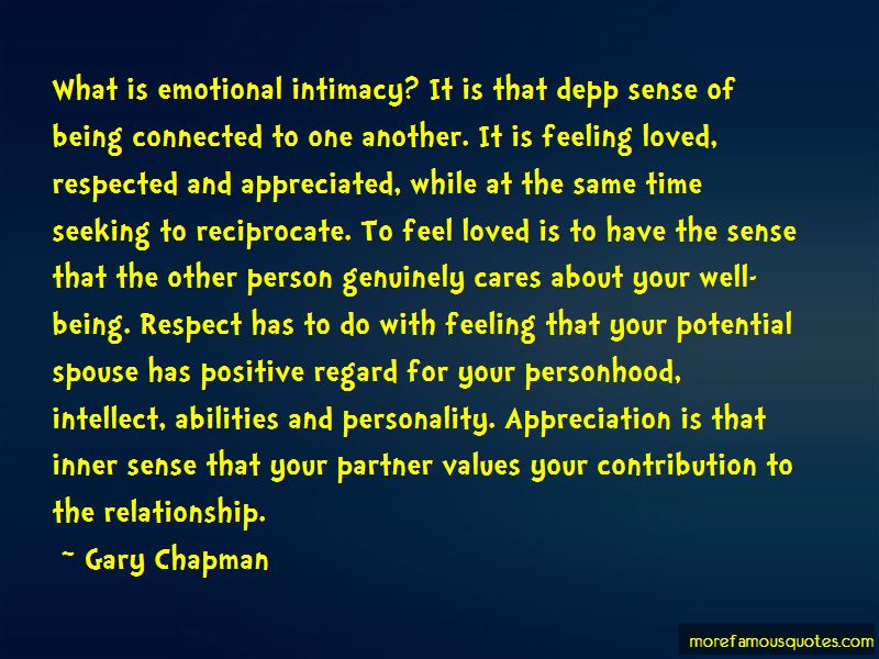 Quotes About Feeling Appreciated In A Relationship