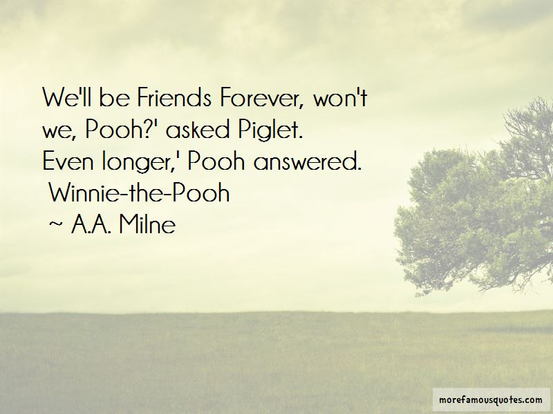 Quotes About Friends Forever Winnie The Pooh