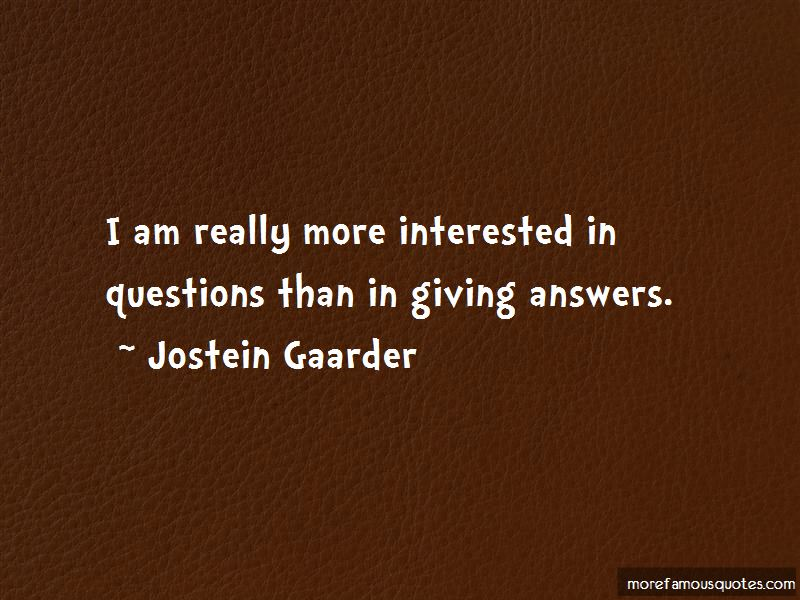 Quotes About Giving Answers