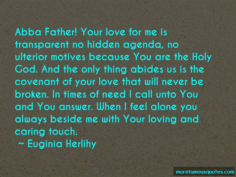 Quotes About God When You Feel Alone
