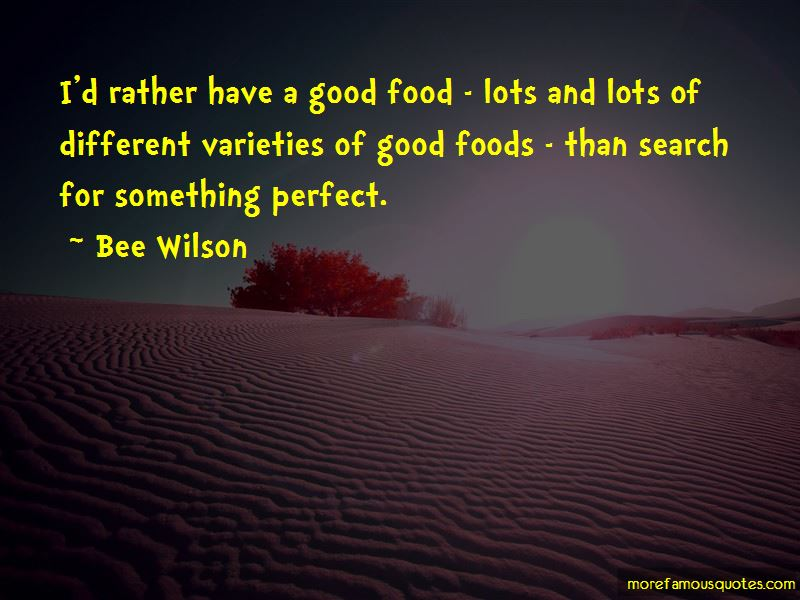 Quotes About Good Foods