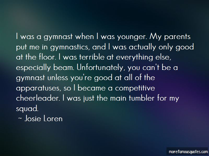Quotes About Gymnastics Beam