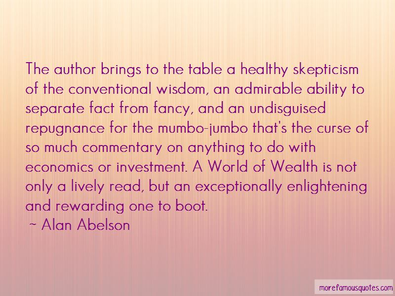 Healthy Skepticism Quotes Pictures 4