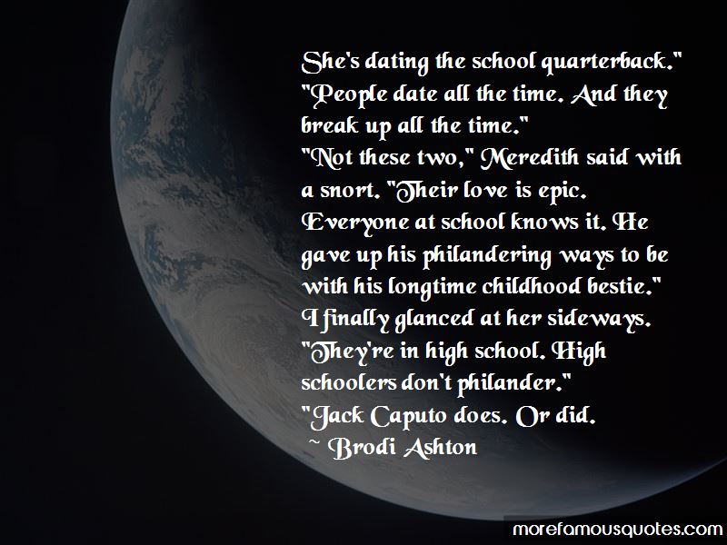 Quotes About High Schoolers