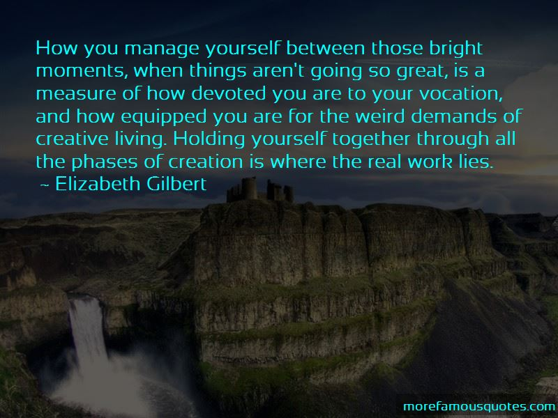 Holding Yourself Together Quotes Pictures 2