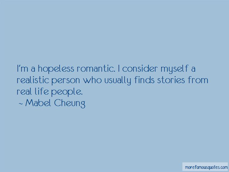 Quotes About Hopeless Romantic