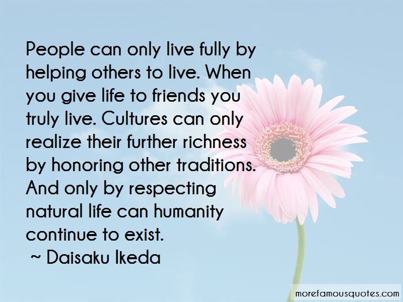 Humanity And Helping Others Quotes Pictures 2