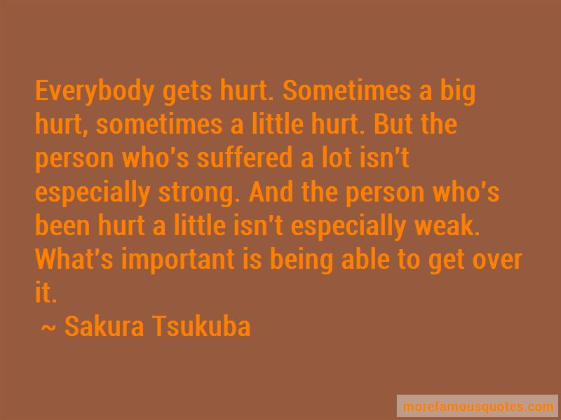 Hurt And Being Strong Quotes Pictures 2