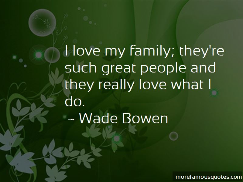 Quotes About I Love My Family