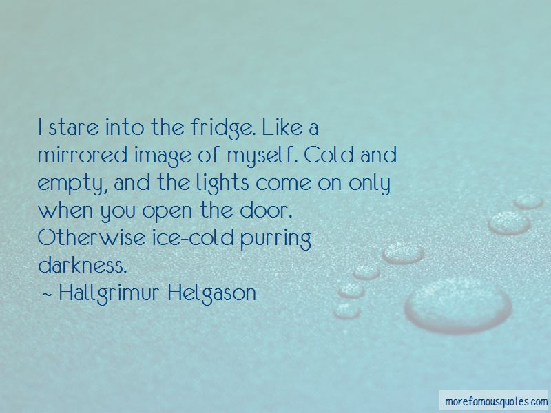 Quotes About Ice Cold
