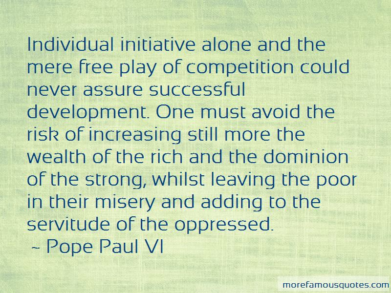 Quotes About Individual Initiative