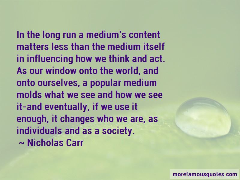 Quotes About Influencing Society