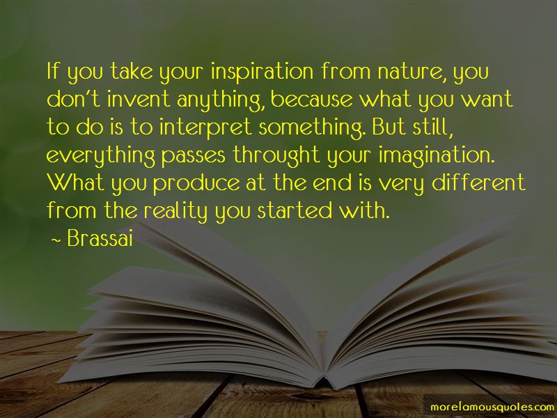 Quotes About Inspiration From Nature