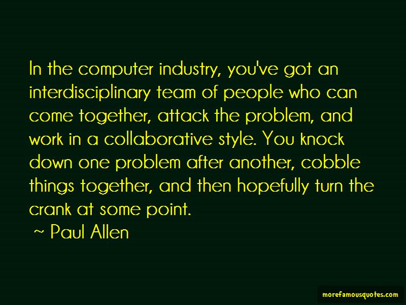 Quotes About Interdisciplinary