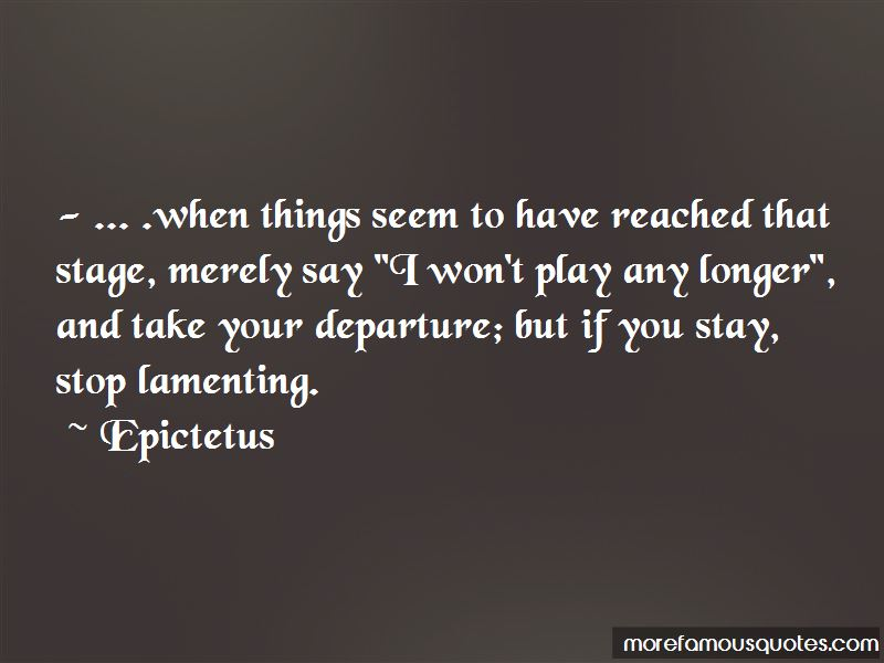 Quotes About Lamenting