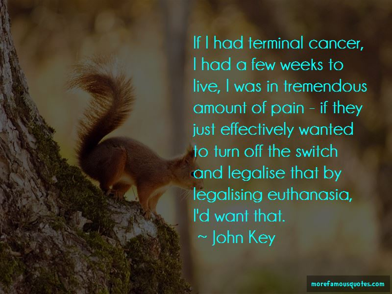 Quotes About Legalising Euthanasia