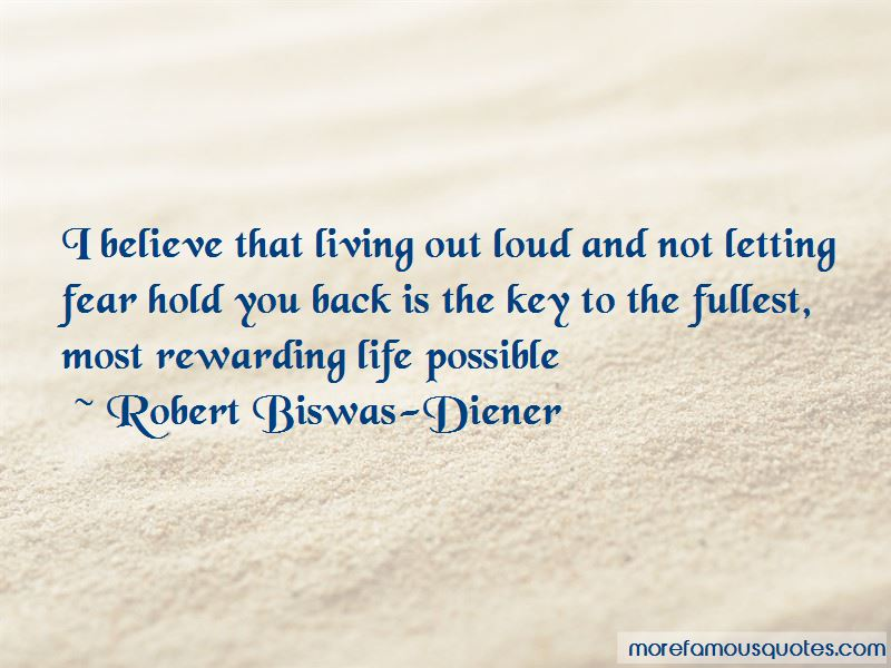 Quotes About Letting Fear Hold You Back