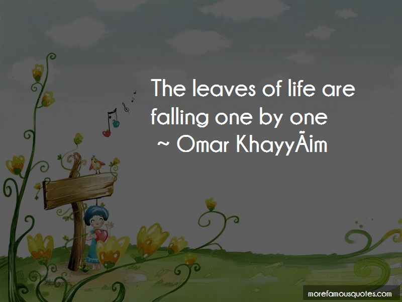 Life And Falling Leaves Quotes Pictures 2